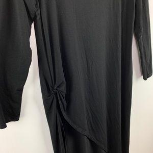 torrid Tops - Torrid Asymmetrical Side Knot Tunic Long Sleeve 1X